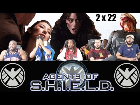 """Agents Of Shield 2 X 22 Reaction! """"S.O.S Pt.2"""""""
