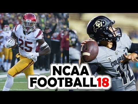 USC @ Colorado - 11-10-17 NCAA Football Week 11 Simulation (UPDATED ROSTERS)