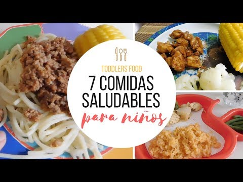 7 COMIDAS FÁCILES Y SALUDABLES PARA TU BEBE O NIÑO | FOOD IDEAS FOR KIDS AND BABYS