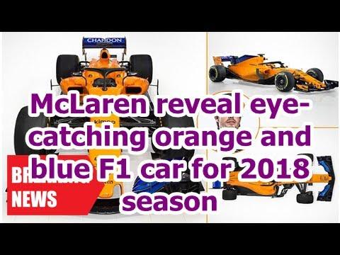 Breaking News - McLaren reveals eye-catching Orange and blue car F1 season 2018