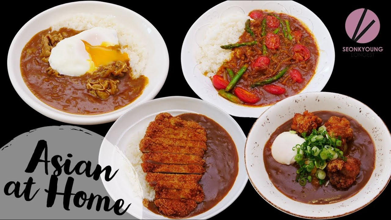 Japanese Curry 4 Ways!!