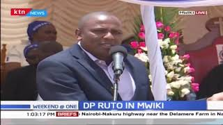 DP Ruto attends fundraiser in Mwiki