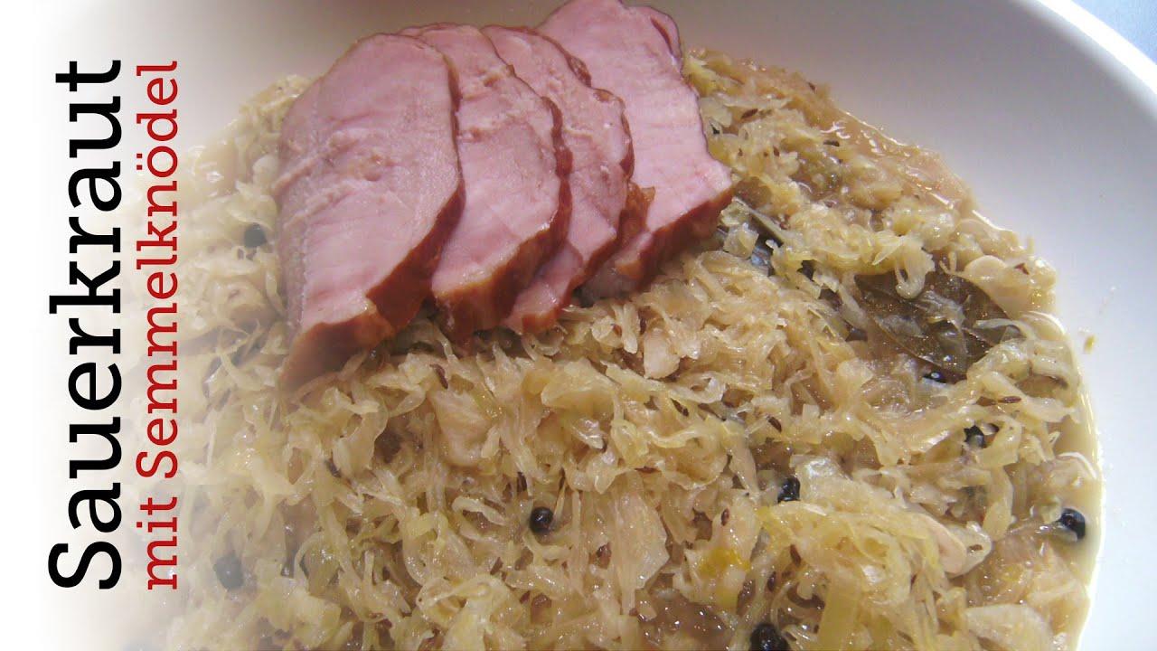 Rezept - Sauerkraut mit Semmelknödeln (Red Kitchen - Folge ...