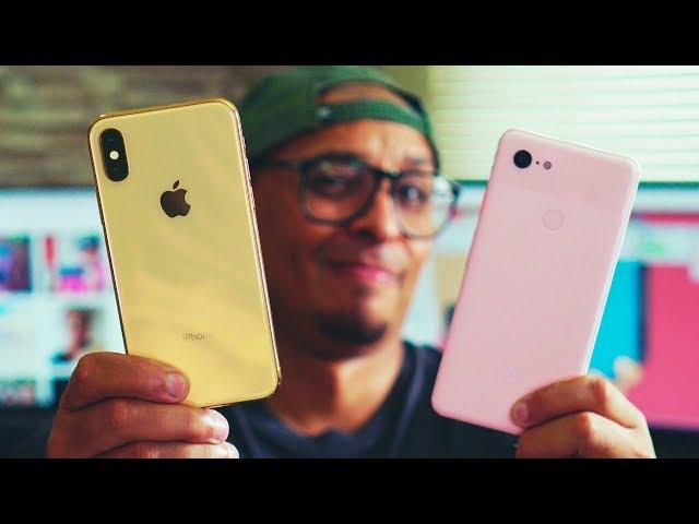 😨 QUE SURRA HEIN IPHONE!!💥 Pixel 3 XL vs Iphone XS, Quem tira melhores fotos? 📷
