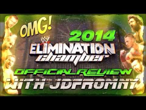 LIVE' WWE ELIMINATION CHAMBER 2014 || WWE 2K14 SIMULATION FULL PPV ...