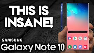 SAMSUNG GALAXY NOTE 10 - Epic Design!