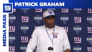 Patrick Graham Evaluates the Youth on Defense | New York Giants