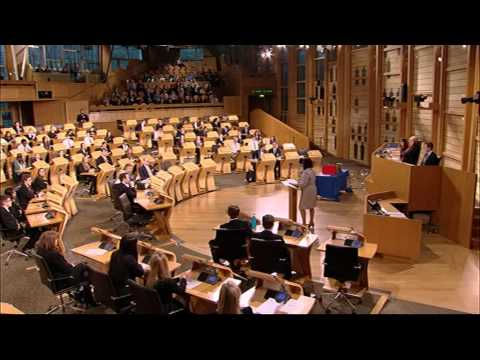 Donald Dewar Memorial Debating Tournament - Final [Part I] - Scottish Parliament: 4th June 2015