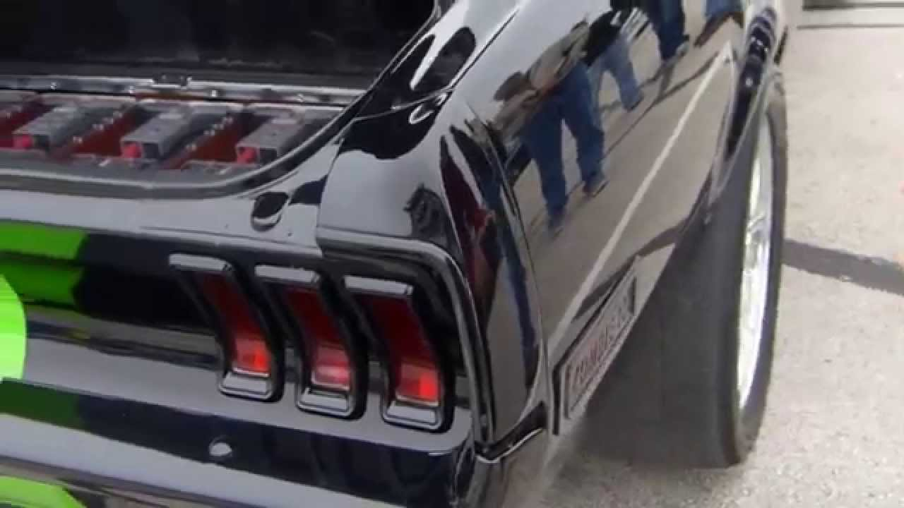 Ford Mustang Fastback Electric Muscle Car Zombie 222 Youtube