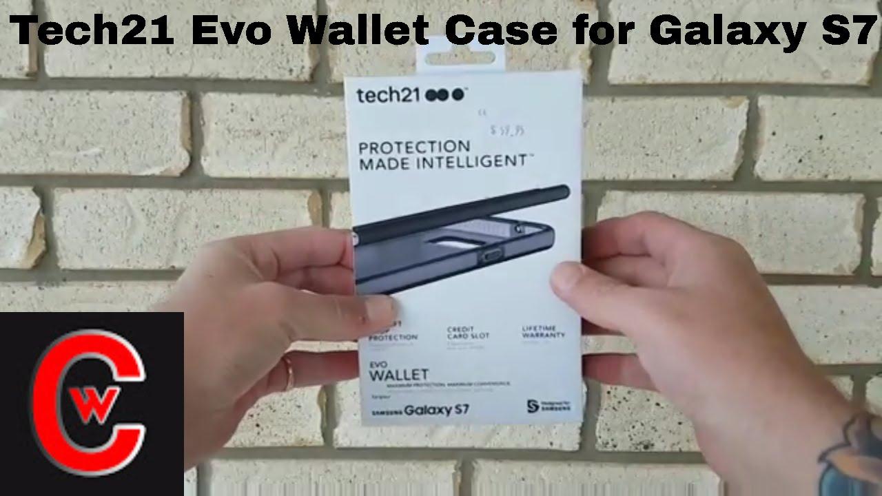 lowest price 96d75 2ed8b Samsung Galaxy S7 Tech21 Evo Wallet Case