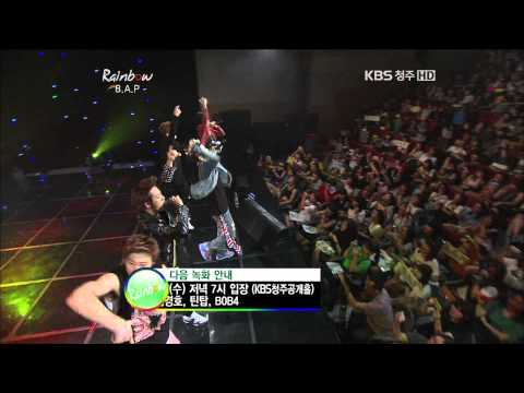 120822 B.A.P - What the hell @ Rainbow (4-5) [HD]