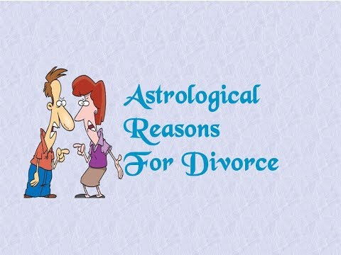 Astrological Reasons For Divorce
