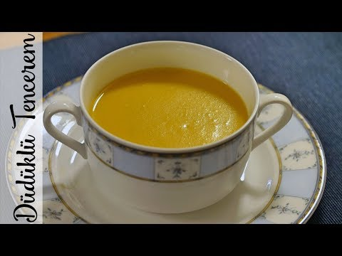 Balkabağı Çorbası Nasıl Yapılır? - Easy Pumpkin Soup