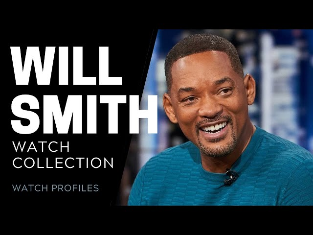 Will Smith Watch Collection | SwissWatchExpo