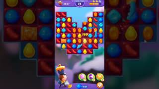 Candy Crush FRIENDS Saga level 72 no boosters