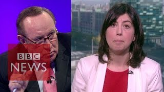 Lucy Powell vs Andrew Neil on Sunday Politics - BBC News