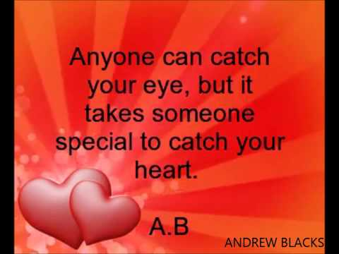 You are very special to me