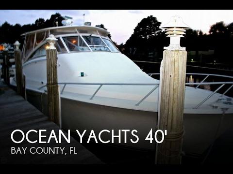 [SOLD] Used 2000 Ocean 40 Sport Fish in Panama City, Florida