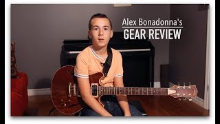 "Alex Bonadonna - Gear Review, Dalbello Guitars ""Silva"""
