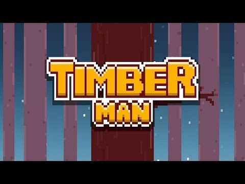 Timberman - iOS / Android - HD Gameplay Trailer