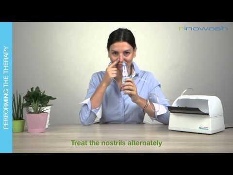 RINOWASH  - Nasal Douche And Medication