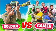 1 SPECIAL FORCES SOLDIER vs 5 YOUTUBERS