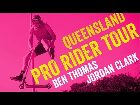 Pro Scooter Rider Queensland Tour