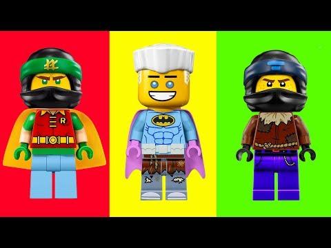 Lego Ninjago Wrong Heads Stop Motion