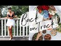 BACK ON TRACK Fat Loss & Diet Tips | Body Update & Healthy Living