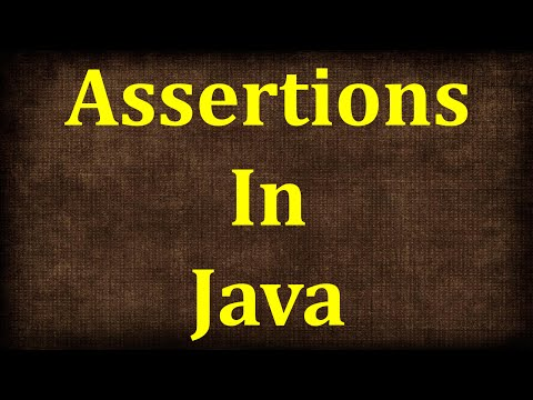 Java Tutorial # 21 | Assertions in Java | Assert in Java | J