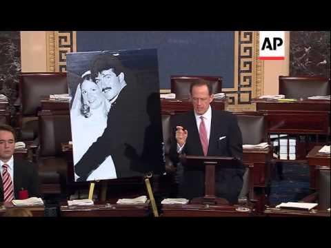 Bipartisan Senate opposition blocked swift confirmation Wednesday for President Barack Obama's choic