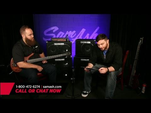 Sam Ash LIVE - Episode 49:  Hartke HyDrive Bass Amps