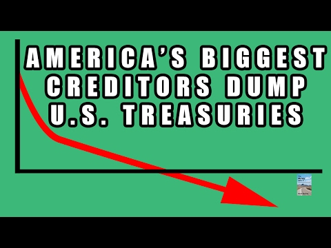 CAUTION: U.S. Biggest Creditors Have Been DUMPING Treasuries! Find Out Who is Selling