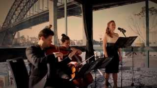 schubert ave maria violin cello soprano sydney catholic wedding music st mary s church