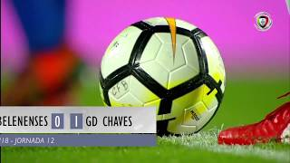 Video Gol Pertandingan Belenenses vs Chaves