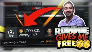 RONNIE 2K GIVING ME FREE VC TO UPGRADE MY 6'3 GLASS CLEANER