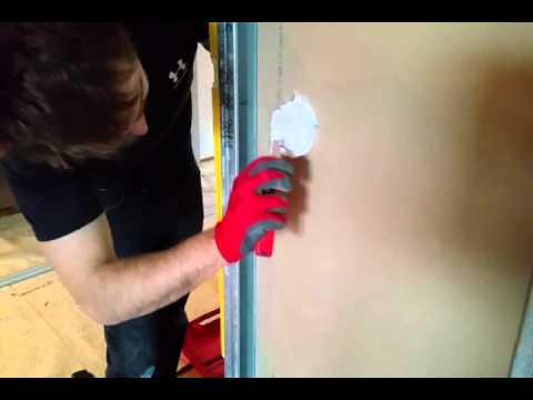 Impianto elettrico professionale in pareti di cartongesso - YouTube