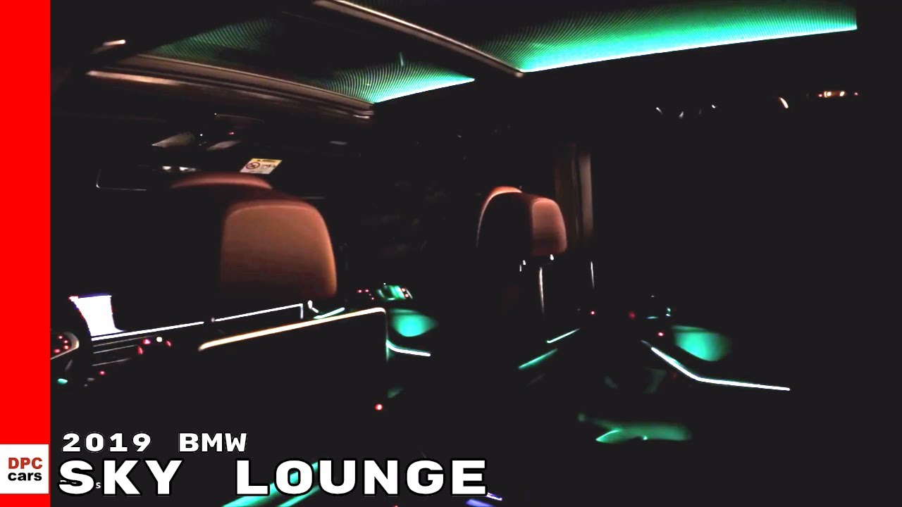 2019 Bmw X5 Sky Lounge Youtube