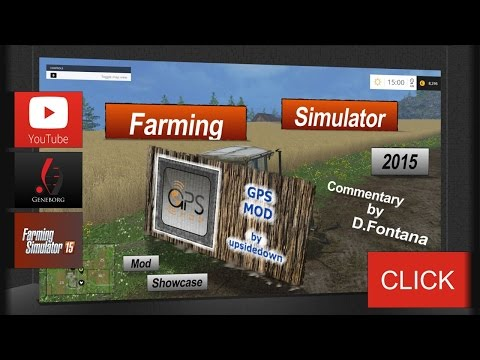 Farming Simulator 15 | How to: Use GPS Mod | Basics | Doovi