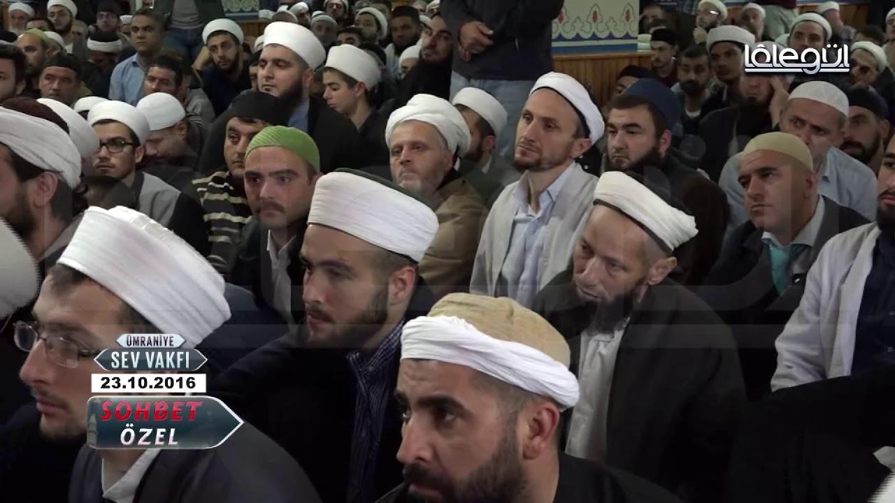 23 Ekim 2016 Tarihli Ümraniye Sohbeti - Cübbeli Ahmet Hocaefendi Lâlegül TV