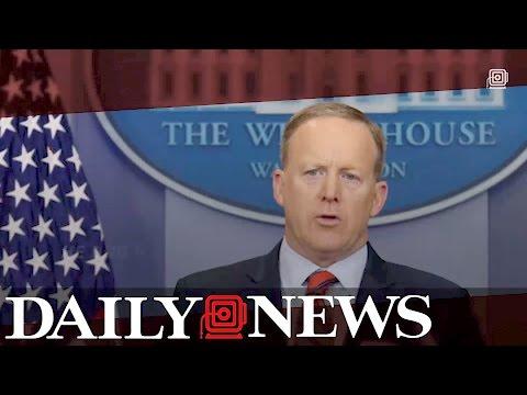 White House press secretary Sean Spicer: Hitler