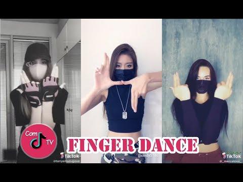 Finger Dance Challenge + Tutorial TikTok Videos Compilation 2019