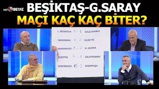 Beşiktaş-G.Saray ve Kasımpaşa-Fenerbahçe maçları kaç kaç biter?