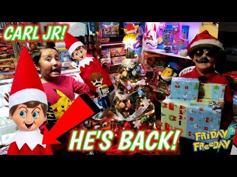 OPENING THE BEST & WORST CHRISTMAS PRESENTS EVER! SCARY ELF SUPRISE! Santa Came Early Part 3! FF#89!
