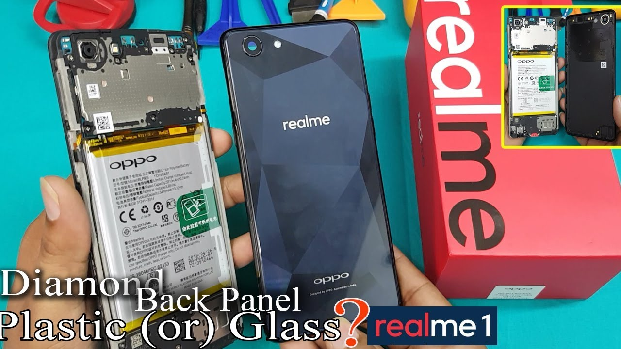 Oppo Realme 1- How to Open Realme 1 Back Panel ||Oppo Realme1 Back Panel  Disassembly-CPH1861
