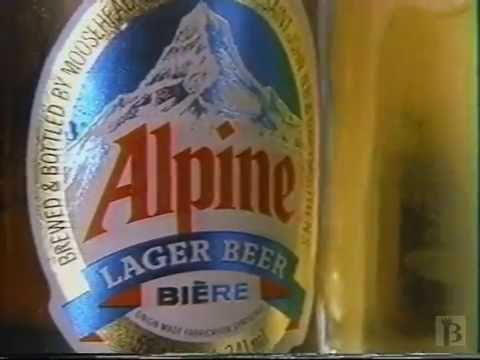 Alpine Lager Commercial 1989