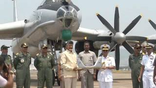ap cm press briefing on receiving tu 142 m aircraft on 08 04 2017