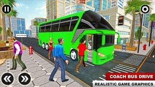 City Passenger Coach Bus Simulator: Bus Driving 3D screenshot 4