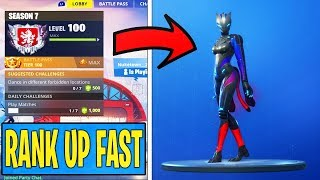 "Unlock MAX ""LYNX"" and ""ZENITH"" SKIN FAST! (How to RANK UP FAST in Fortnite SEASON 7)"