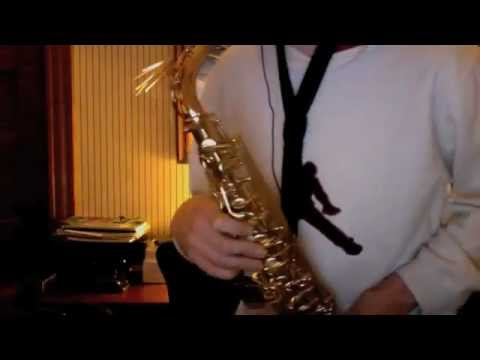 Stand By Me Alto Saxophone Youtube